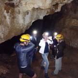 Selfie in der Höhle