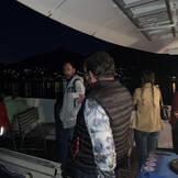 Rückfahrt abends über den Thunersee