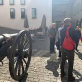 Ankunft beim Schloss Thun
